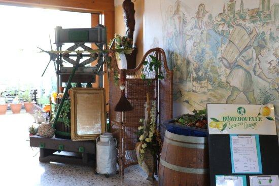 Podersdorf am See, Austria: liebevoll gestalteter Entree