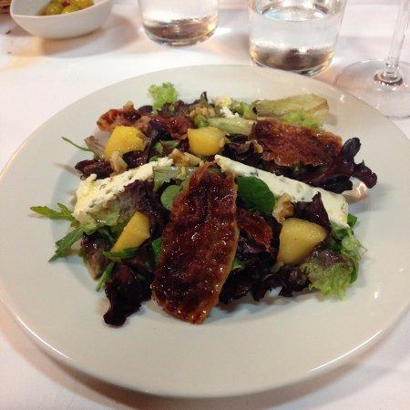 Palas de Rei, Spanje: Delicious salad