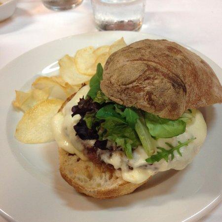 Palas de Rei, Spanje: Great burger