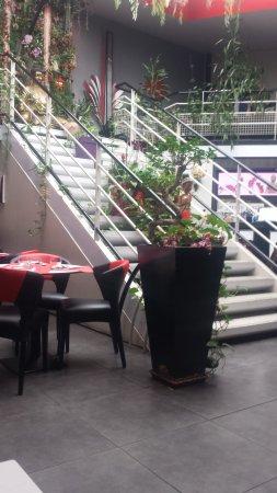 le jardin d'asie : vue de la salle