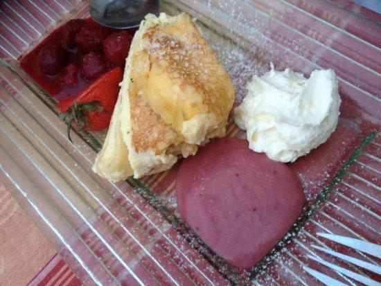Tulln, Avusturya: Topfen-Lasagne