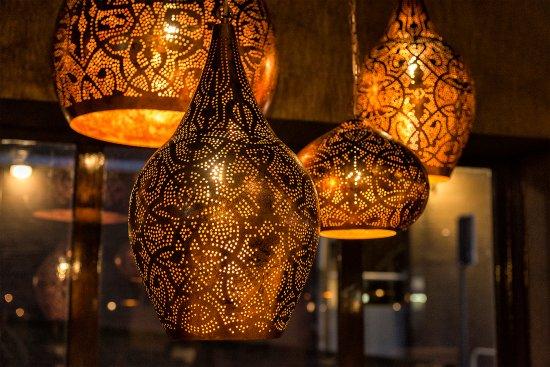 Lampen 2 foto van kitchen rani scheveningen tripadvisor for Foto lampen