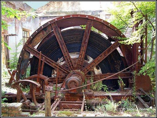 Sassoferrato, Italy: Vallotica (AN) - miniera dello zolfo