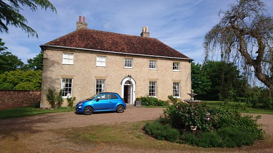 Eastling, UK: House from the front