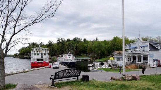 Gananoque, Canada: Rockport waterfront