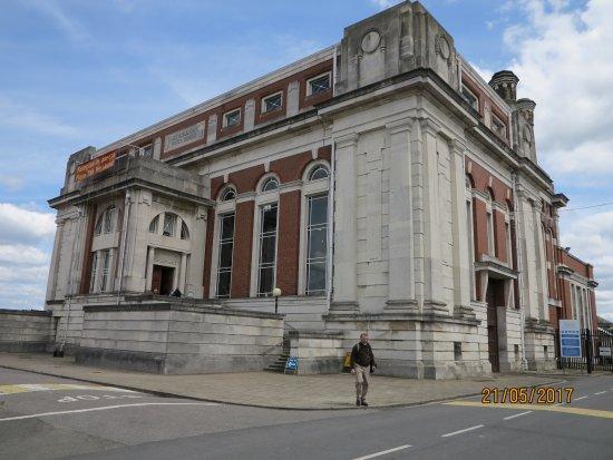 Feltham, UK: The outside of the building