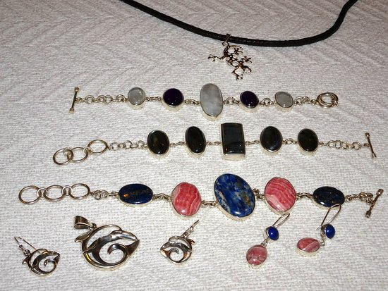 Karma Jewelry Design : The Dolphins are for our fursitter, but everything else has been worn over and over again and lo