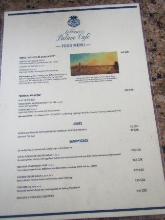 Food menu #1