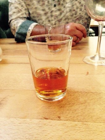 Himley, UK: This was couvousier brandy served in a small tumbler!