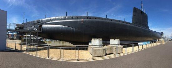 Royal Navy Submarine Museum Photo