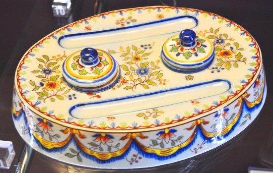 Musee de la Ceramique : encrier