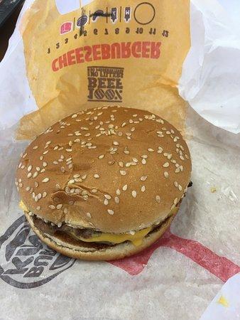 Barstow, CA: Double Cheeseburger