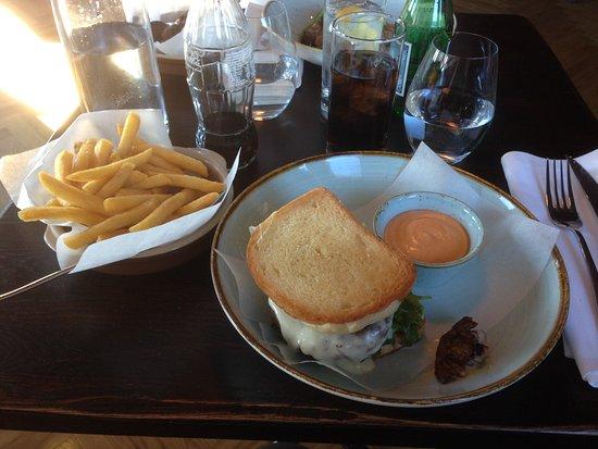 Pitea, Sweden: Hamburgaren med glutenfritt bröd