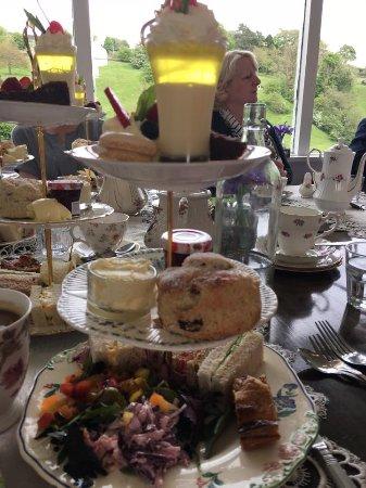 Hebden, UK: Afternoon tea.
