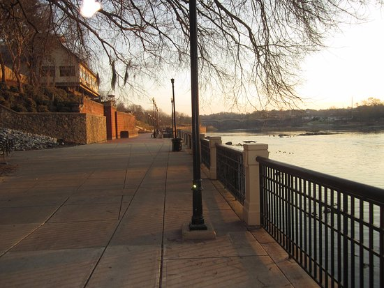 Another view of the Columbus Riverwalk