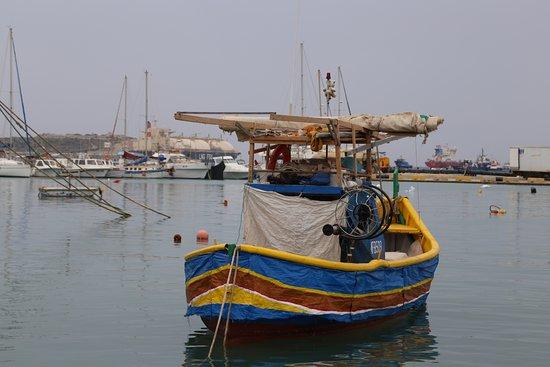 Marsaxlokk, Malta: de vuelta a puerto