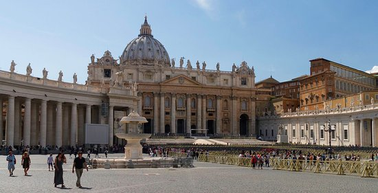 Rome, Italy: St. Peter's Basilica