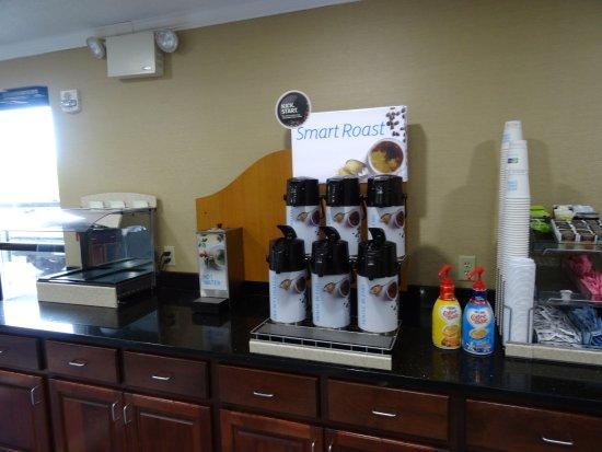 Pocomoke City, MD: The coffee was very good.