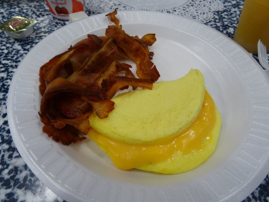 Pocomoke City, MD: This is my favorite way to eat bacon !