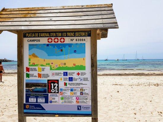 Playa de Es Trenc: 20170521_134127_large.jpg
