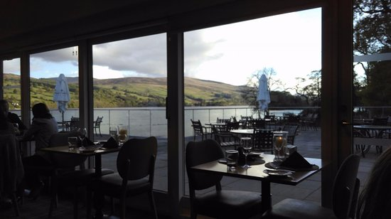 Kenmore, UK : View from our table