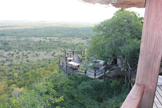 Ulusaba Private Game Reserve, Zuid-Afrika: View from Rock Lodge