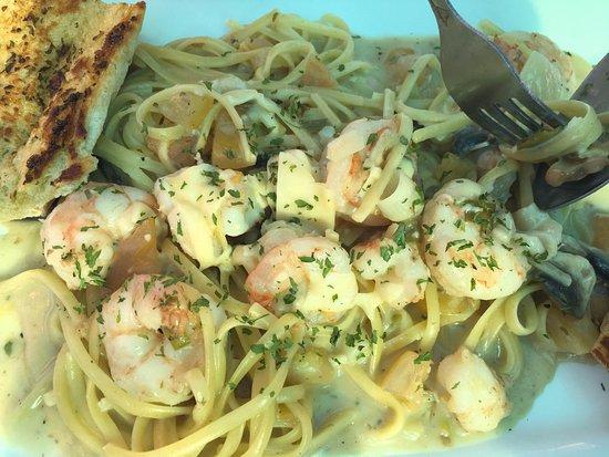 Cortez, FL: Shrimp Scampi