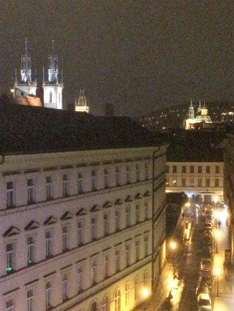 Street view from 7th floor room of hotel picture of for Design hotel josef prague tripadvisor