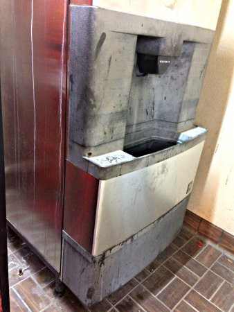 Huntersville, NC: Would you use ice dispensed from this machine?