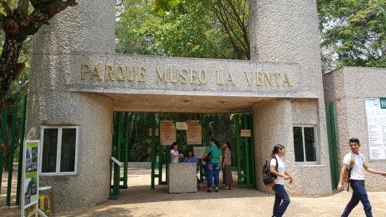 Freiluftmuseum Parque-Museo de La Venta: Entrada al Parque museo