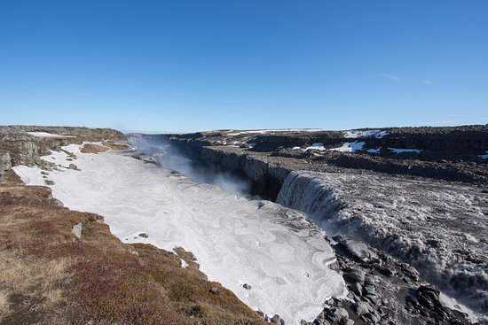 Lake Myvatn, Islandia: Dettifoss waterfall