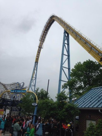 Skyrush Best Experience I Had Ever Had On A Ride Not Recommend For