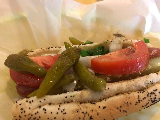 Wienery: hotdog & bun quality/freshness  outstanding.  Chicago amazing.  Mozz sticks good. Skip Californi
