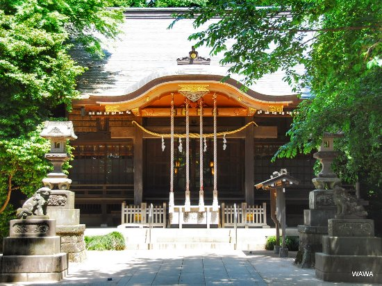 Shakujii Hikawa Shrine