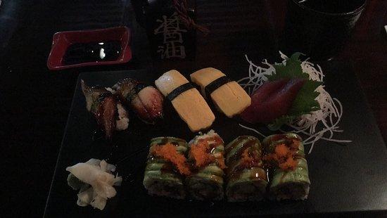 Overland Park, KS: My sushi / roll plate