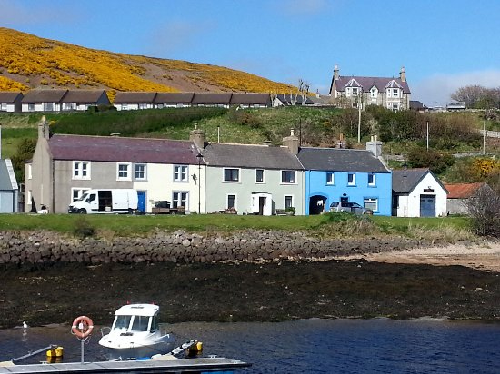 Down by the harbour in Helmsdale