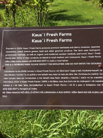 ‪‪Kilauea‬, هاواي: Kauai 'i Fresh Farms‬