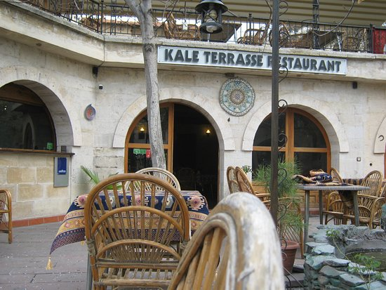 Kale Terrasse: outside