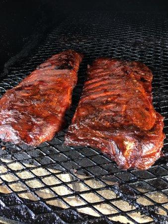 Eddyville, Кентукки: BBQ Ribs