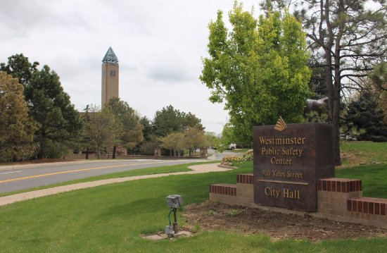 Westminster, CO: Entrance to the city hall area