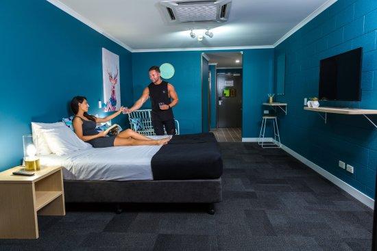 Gilligans Backpackers Hotel & Resort: Hotel Deluxe