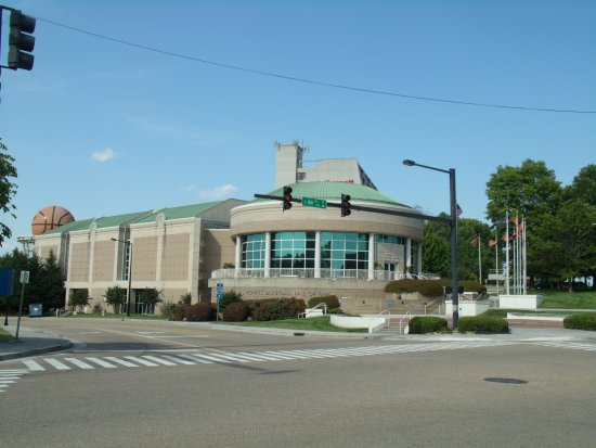 The Women's Basketball Hall of Fame building