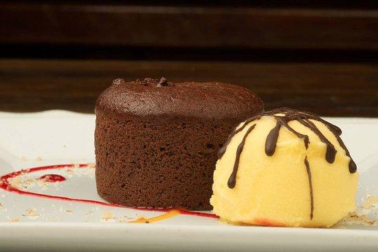 Tango Restaurant: Chocolate Volcano