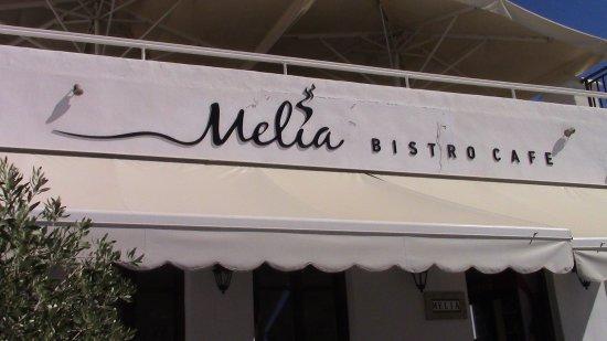 Melia Cafe: Ottima offerta di cibi fatti in casa dolci e salati