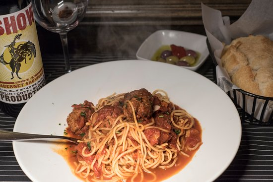 Red Bank, NJ: Spaghetti and Meatballs