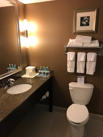 Bathroom Picture Of Holiday Inn Express Hotel Suites Kingston Kingston Tripadvisor