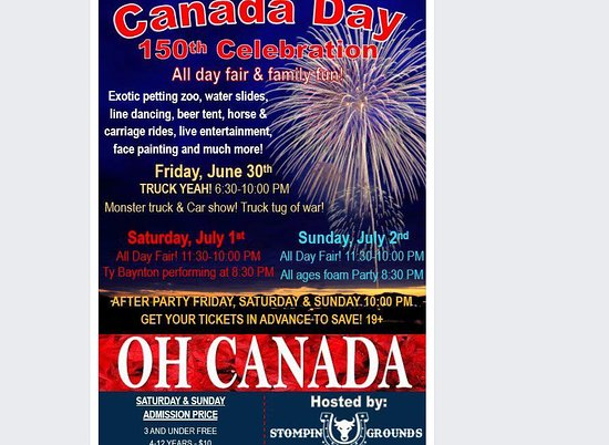 Orangeville, Kanada: Canada day