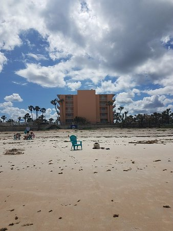 The C Sands Inn From Beach Picture Of