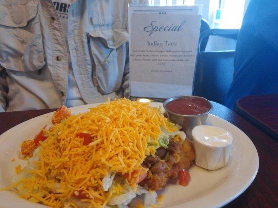Heavener, Оклахома: Indian Taco