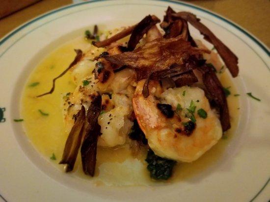 Cortland, NY: Shrimp Gorgonzola Appetizer